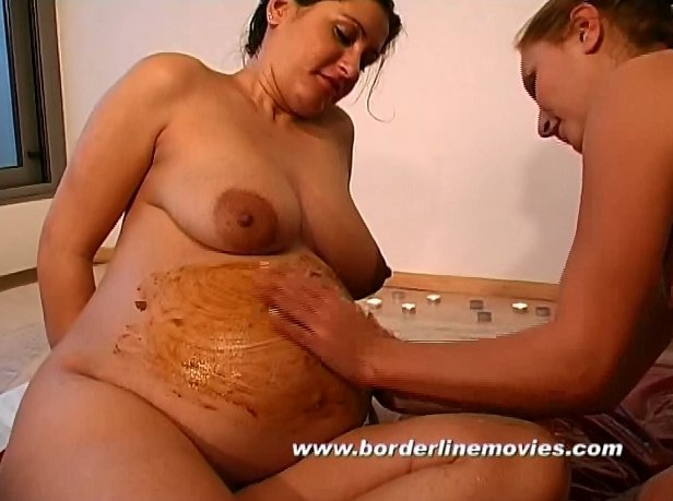 Pregnant Girl Love Scat Too (with Tima) 1