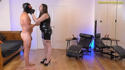 Mistress Evilyne - My Little Shit Whore [664 Mb / FHD-1080] Strapon - Image 2
