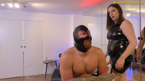 Mistress Evilyne - My Little Shit Whore [664 Mb / FHD-1080] Strapon - Image 6