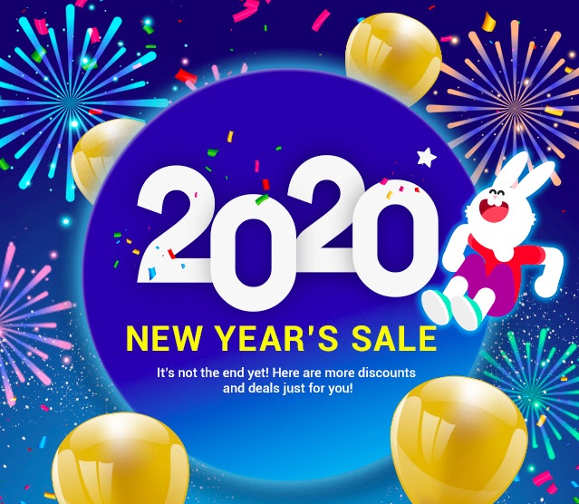 Takefile Premium New Year Sale 2020